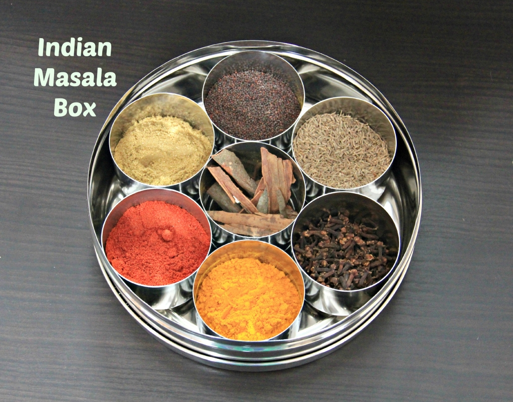 Masala Box Stock Photo - Image: 656270